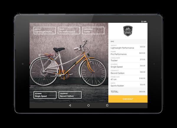 Bikeshop screenshot