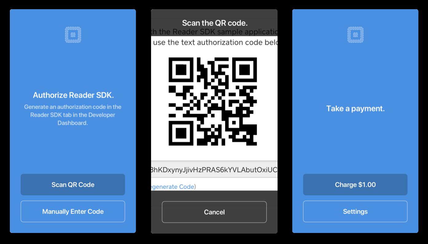 Sampleapp qr code entry